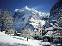 Ski Resort Grindelwald in Switzerland
