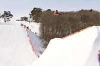 Jenny Jones wins the Nippon Open Slopestyle