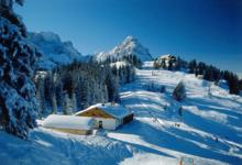 Ski Resort Garmisch in Germany