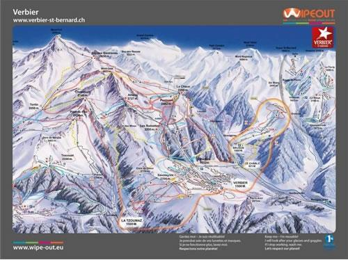 4-Valleys 2010/11 Wipeout Map
