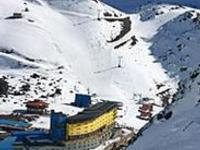 Ski Resort Portillo in Chile