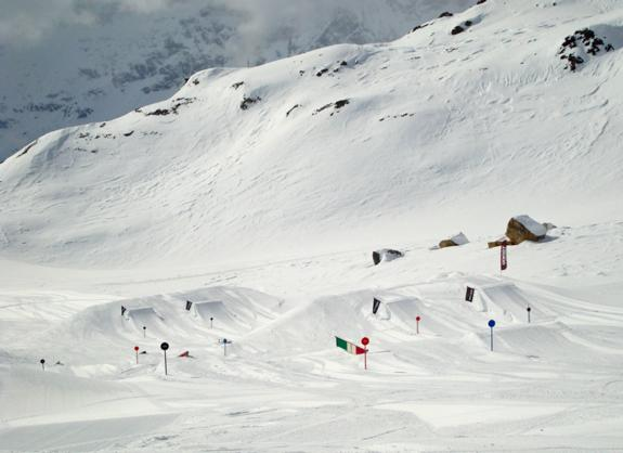 IndianPark in Cervinia