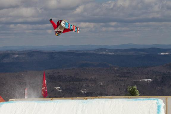 2012 US Open slopestyle winner Sebastian Toutant