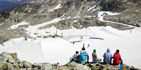 Glacier opens at Whistler for summer