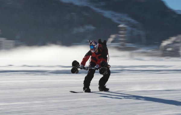 Jamie Barrow St Moritz Speed Record