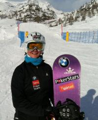 Zoe Gillings triumps in Italy