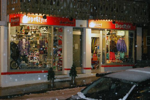 Morzine slopestyle shop