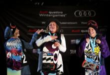 Jenny Jones wins silver at winter games nz!