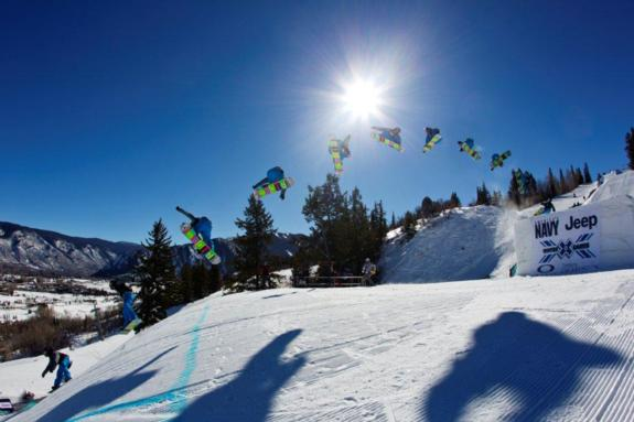 Sebastien Toutant competes in Men's Slopestyle Elimination at Winter X Games 15