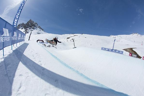 The Brits Halfpipe Ayla Thidling