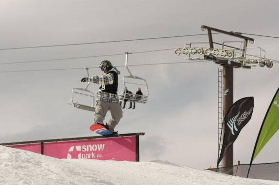 Junior Worldchamps 2010, Slopestyle Nicholas Sibayan