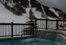 Ski Resort Aspen Highlands in USA