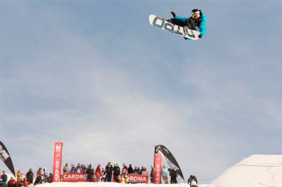 2010 Junior WorldChamps Halfpipe finals Ben Stewart (NZE)