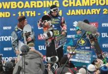 Clean sweep for USA in the BEO 08 halfpipe finals