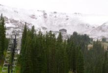 First snow of the 2011/1 season in Colorado