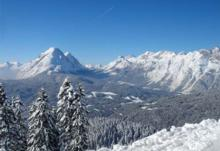 Ski Resort Seefeld in Austria