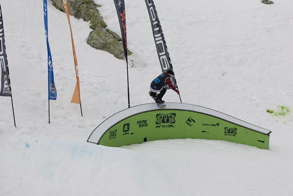 The Brits Animal Slopestyle 2010 rider: Declan Power