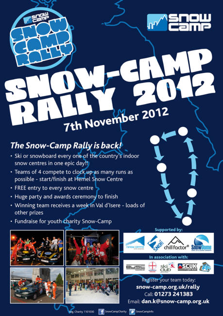 Snow Camp Rally 2012