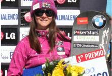 Gillings Wins World Cup Finals Podium in Italy