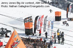 Jenny Jones Big Air contest, AIM Series Laax 06