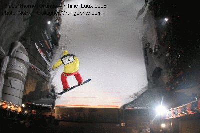James Thorne, Orange Air Time, Laax 2006