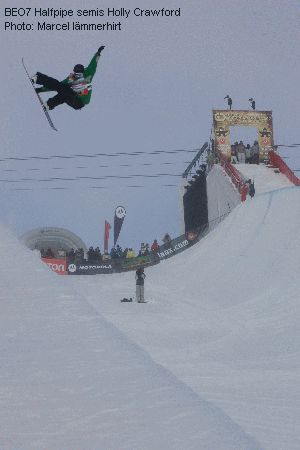 BEO7 Halfpipe semis Holly Crawford