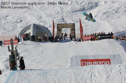BEO7 Slopestyle qualification - Stefan Maurer