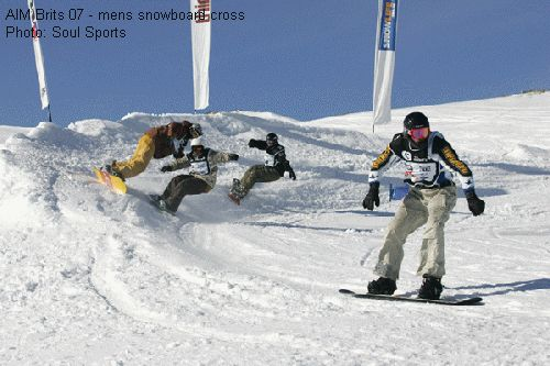 AIM Brits 07 - mens snowboard cross