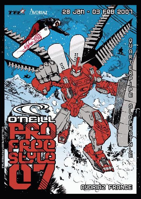 ONeill Pro Freestyle 2007 poster