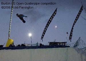 Burton US Open Quaterpipe competition