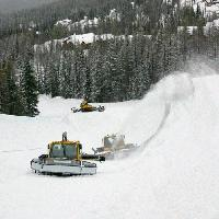 Big Mountain Superpipe, early progress
