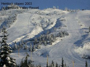 Hemlock slopes 2003