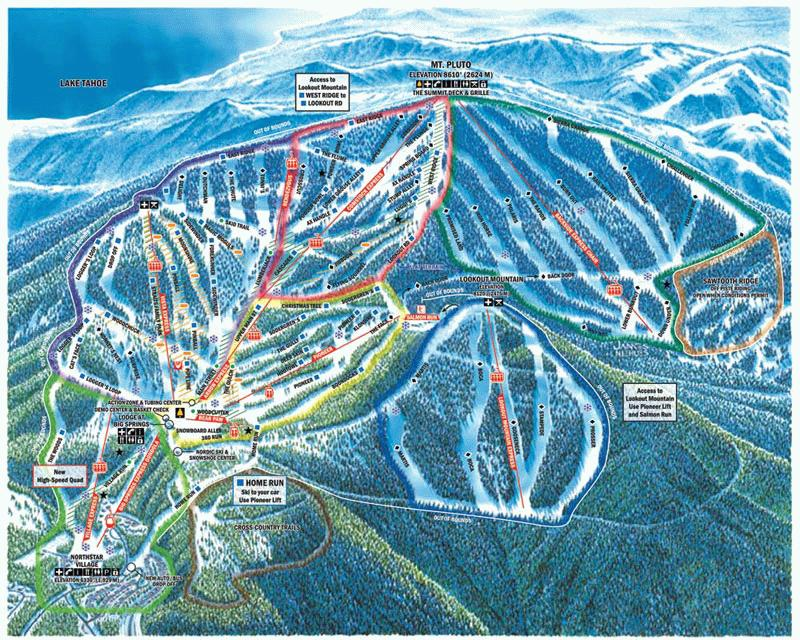 Northstar riding guide - World Snowboard Guide