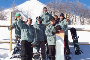 Pucon ski instructors