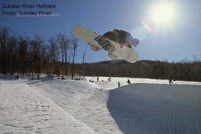 Sunday River Halfpipe